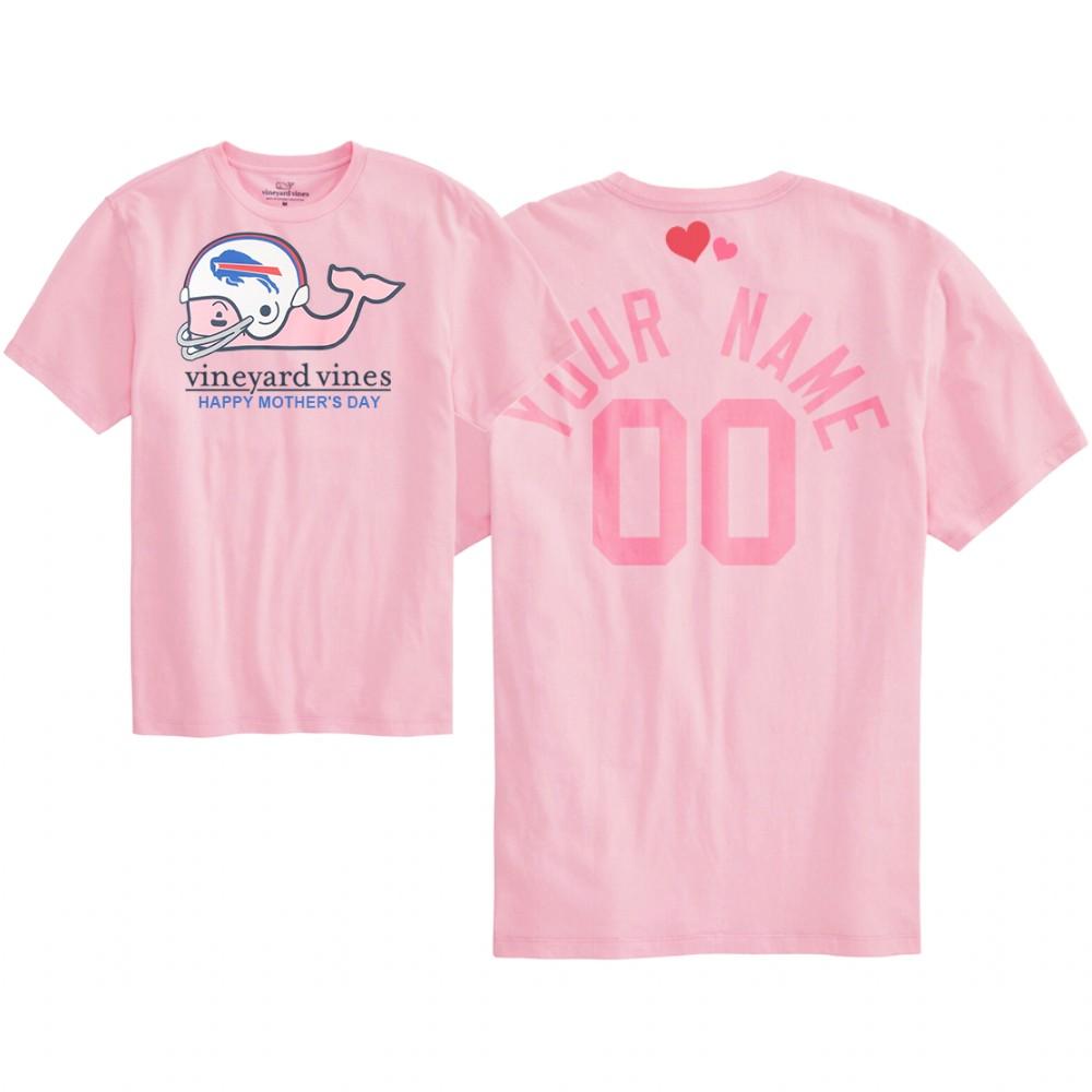 Shop Authentic Buffalo Bills Custom Pink Apparel At NFL Jersey Shop